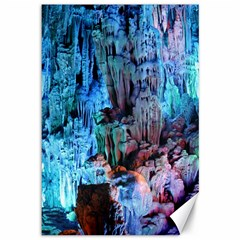 Reed Flute Caves 3 Canvas 12  X 18