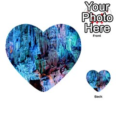 Reed Flute Caves 3 Multi Purpose Cards (heart)