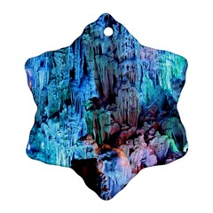 Reed Flute Caves 3 Ornament (snowflake)