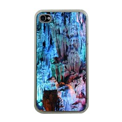 REED FLUTE CAVES 3 Apple iPhone 4 Case (Clear)