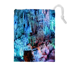 Reed Flute Caves 3 Drawstring Pouches (extra Large)
