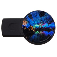 REED FLUTE CAVES 2 USB Flash Drive Round (1 GB)