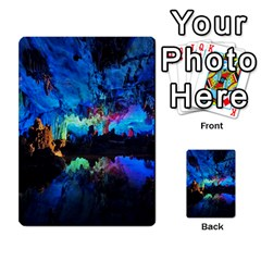 Reed Flute Caves 2 Multi Purpose Cards (rectangle)