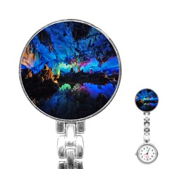 REED FLUTE CAVES 2 Stainless Steel Nurses Watches