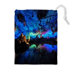REED FLUTE CAVES 2 Drawstring Pouches (Extra Large)