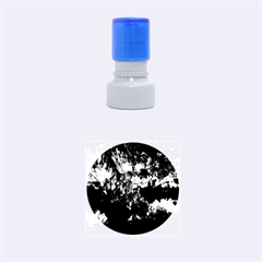REED FLUTE CAVES 1 Rubber Round Stamps (Small)