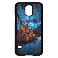 Reed Flute Caves 1 Samsung Galaxy S5 Case (black)