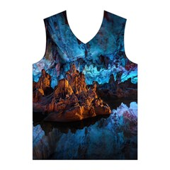 REED FLUTE CAVES 1 Men s Basketball Tank Top