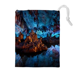 REED FLUTE CAVES 1 Drawstring Pouches (Extra Large)