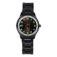 PHONG NHA-KE BANG 1 Stainless Steel Round Watches