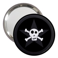 Star Skull 3  Handbag Mirrors