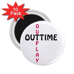 Outtime / Outplay 2.25  Magnets (10 pack)