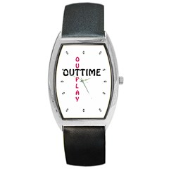 Outtime / Outplay Barrel Metal Watches