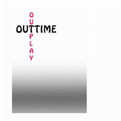 Outtime / Outplay Large Garden Flag (Two Sides)