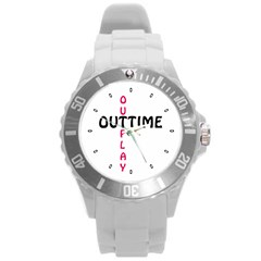 Outtime / Outplay Round Plastic Sport Watch (L)