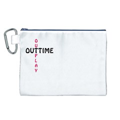 Outtime / Outplay Canvas Cosmetic Bag (l)