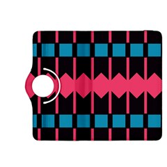 Rhombus And Stripes Patternkindle Fire Hdx 8 9  Flip 360 Case