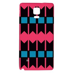 Rhombus And Stripes Pattern			samsung Note 4 Hardshell Back Case