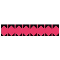Rhombus And Stripes Pattern Flano Scarf