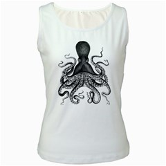 Vintage Octopus Women s Tank Top