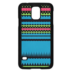 Chevrons And Triangles			samsung Galaxy S5 Case (black)