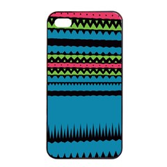 Chevrons and triangles			Apple iPhone 4/4s Seamless Case (Black)