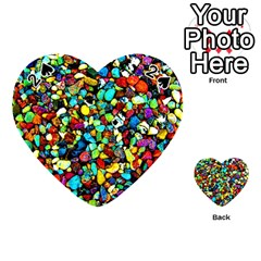 Colorful Stones, Nature Playing Cards 54 (heart)