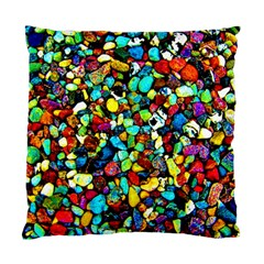Colorful Stones, Nature Standard Cushion Cases (two Sides)