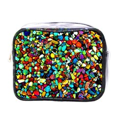 Colorful Stones, Nature Mini Toiletries Bags