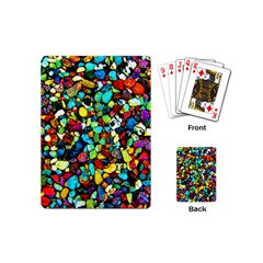 Colorful Stones, Nature Playing Cards (mini)