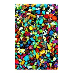 Colorful Stones, Nature Shower Curtain 48  X 72  (small)