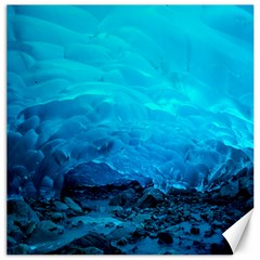 Mendenhall Ice Caves 3 Canvas 20  X 20