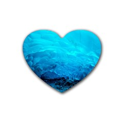MENDENHALL ICE CAVES 3 Heart Coaster (4 pack)
