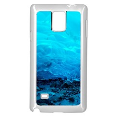 Mendenhall Ice Caves 3 Samsung Galaxy Note 4 Case (white)