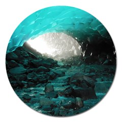 MENDENHALL ICE CAVES 2 Magnet 5  (Round)