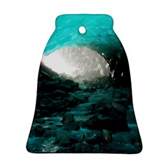 Mendenhall Ice Caves 2 Bell Ornament (2 Sides)