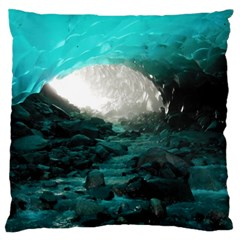 Mendenhall Ice Caves 2 Standard Flano Cushion Cases (one Side)