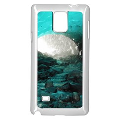 Mendenhall Ice Caves 2 Samsung Galaxy Note 4 Case (white)