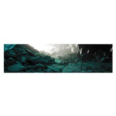 Mendenhall Ice Caves 2 Satin Scarf (oblong)