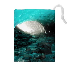 MENDENHALL ICE CAVES 2 Drawstring Pouches (Extra Large)