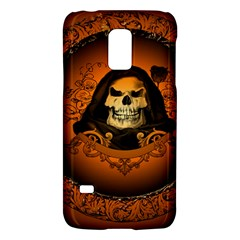 Awsome Skull With Roses And Floral Elements Galaxy S5 Mini