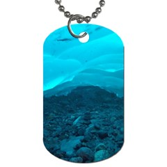 MENDENHALL ICE CAVES 1 Dog Tag (One Side)