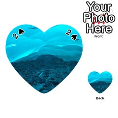 Mendenhall Ice Caves 1 Playing Cards 54 (heart)