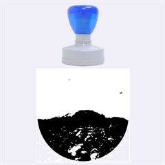 Mendenhall Ice Caves 1 Rubber Round Stamps (large)