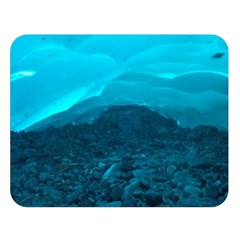 Mendenhall Ice Caves 1 Double Sided Flano Blanket (large)