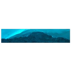 Mendenhall Ice Caves 1 Flano Scarf (small)