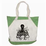 Vintage Octopus Accent Tote Bag  Front