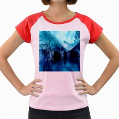 Marble Caves 3 Women s Cap Sleeve T Shirt