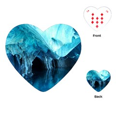 Marble Caves 3 Playing Cards (heart)