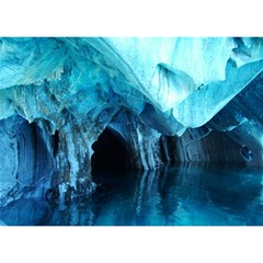 MARBLE CAVES 3 Birthday Cake 3D Greeting Card (7x5)